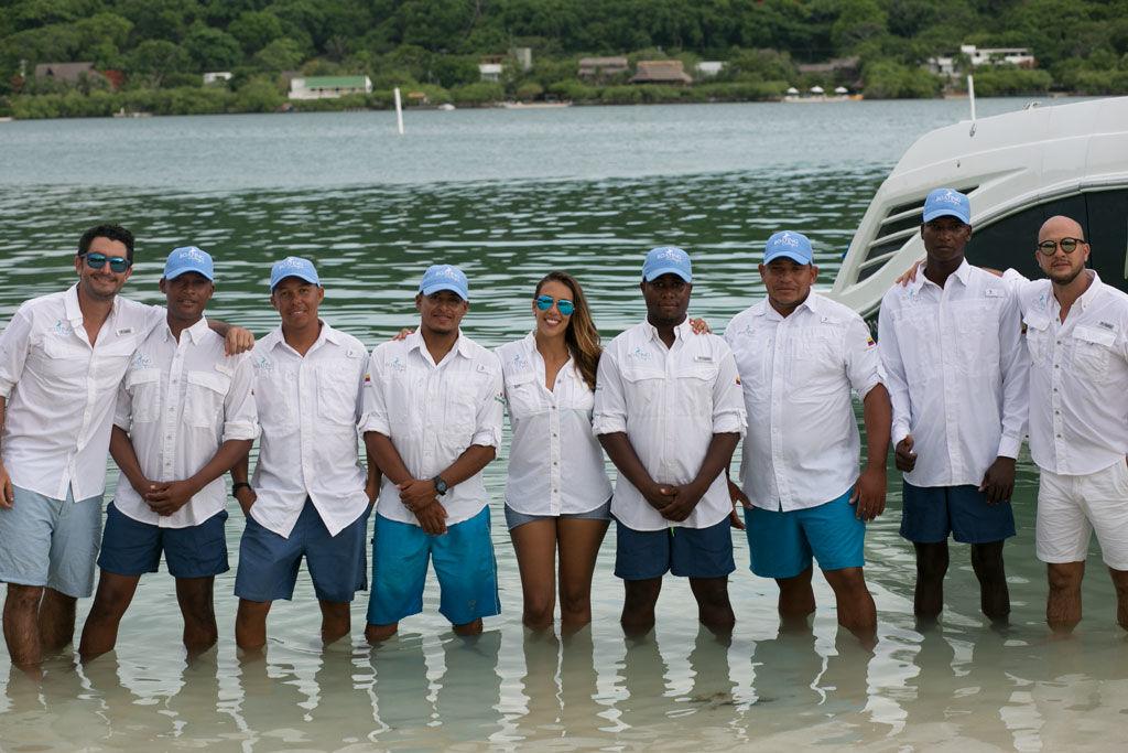 Boating Cartagena