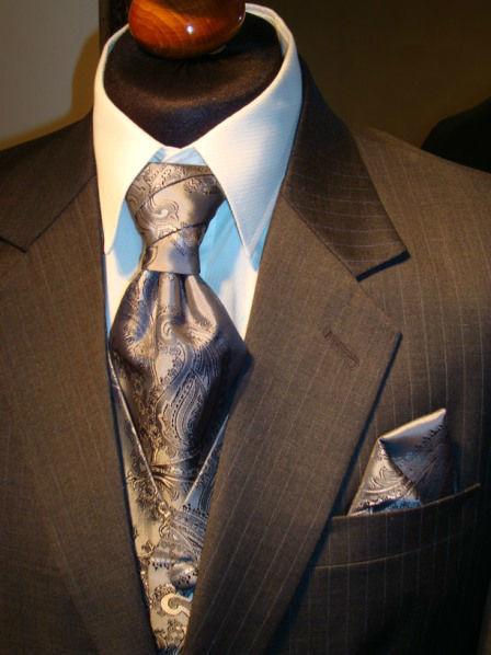 Beispiel: Mode für den Bräutigam, Foto: Romeo Fashion.