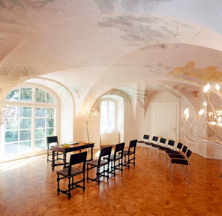 Beispiel: Trauung im Innenbereich, Foto: Bergschlößl Linz.