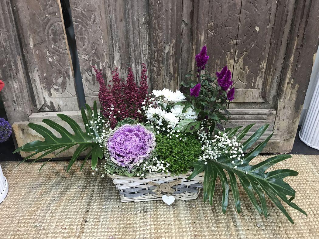 Que Cocolina tocados y arte floral