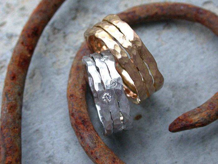 Beispiel: Die Ringe für Ihre Hochzeit, Foto: Goldschmiede Vicina.