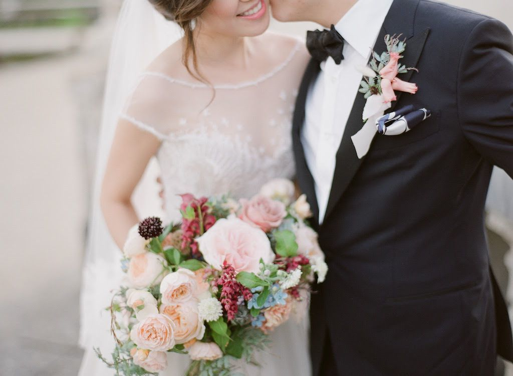 Fall wedding in Paris