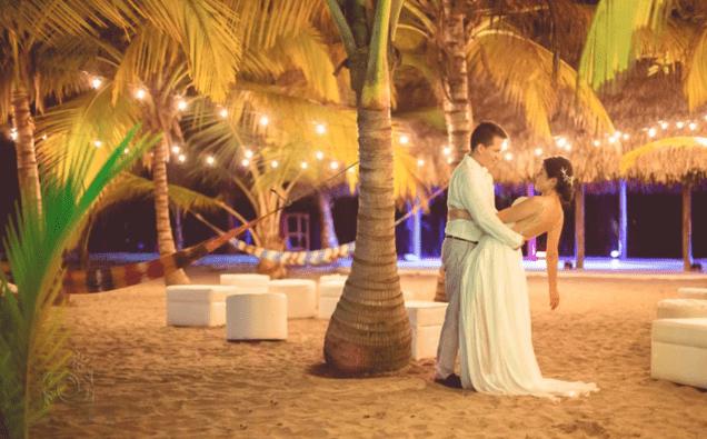 Playa Beach Lounge durante fiesta de Matrimonio