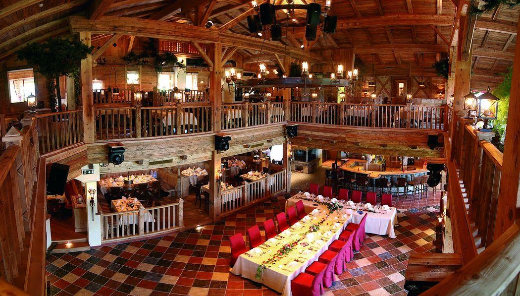 Hochzeitsfeiern in der SEETENNE des Hotel Seehof