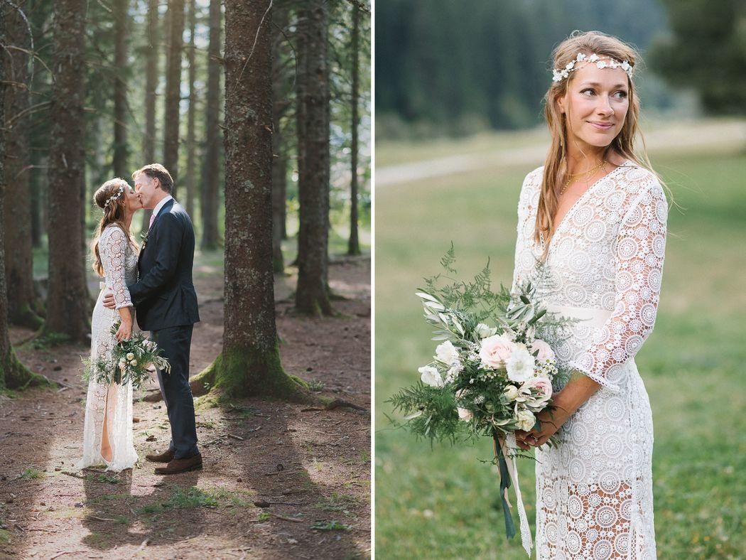 Mariage à la montagne - Chamonix