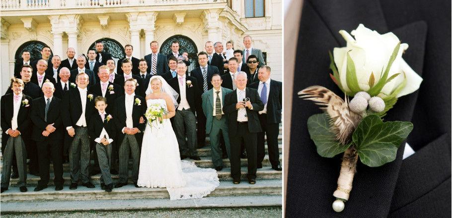 Beispiel: Hochzeitsfoto, Foto: Avorio Hochzeitsorganisation.