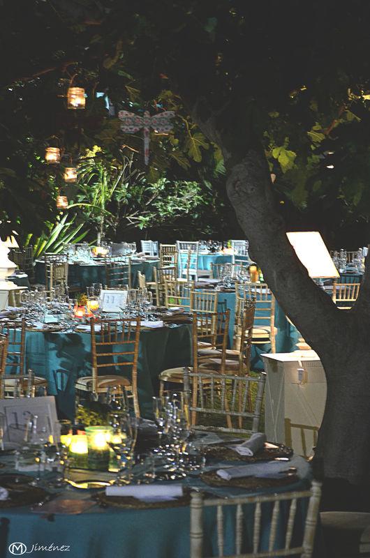 Jardín para cócteles y banquetes