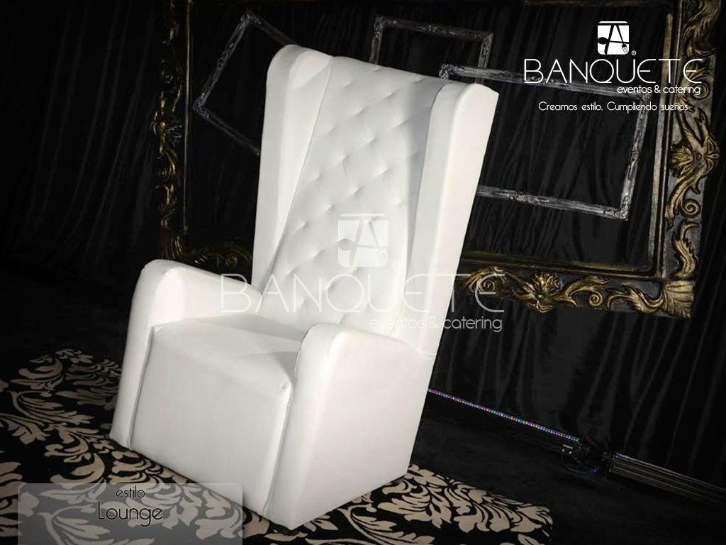 Sillón tipo trono #banqueteeventos