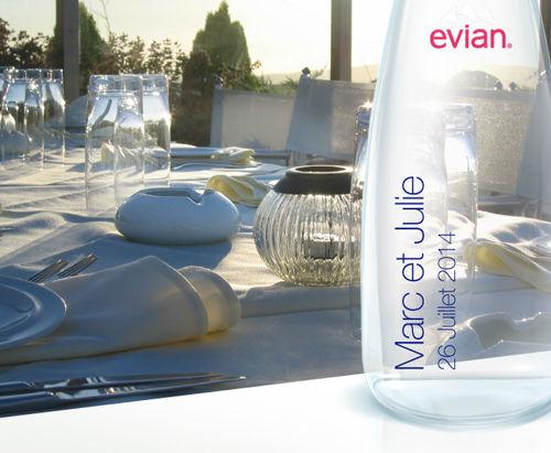 MyEvian - Cadeaux d'invités
