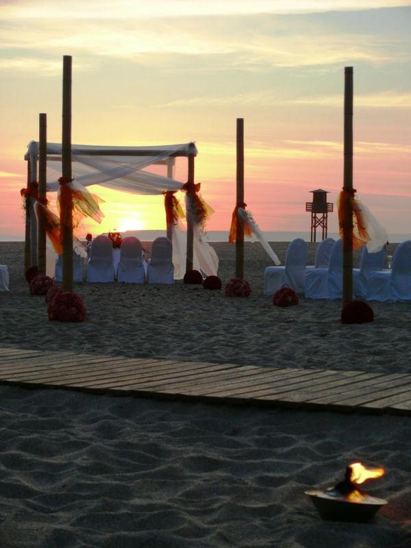 Ceremonia Romántica en la Playa