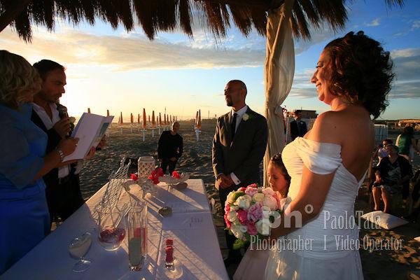 Stefano&Lucia. Matrimonio in spiaggia