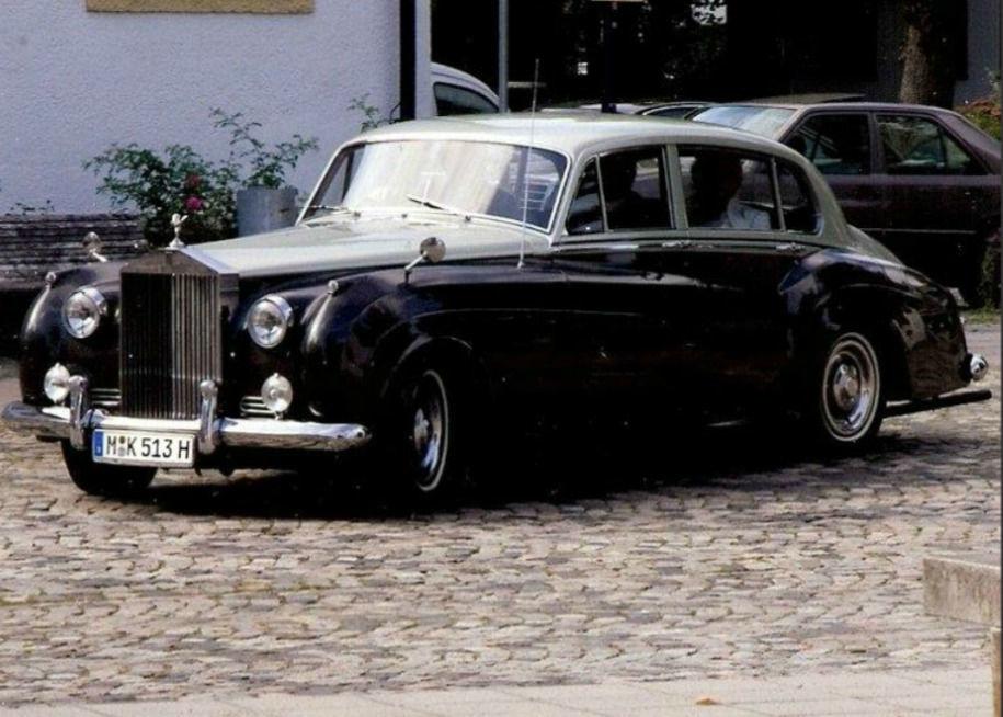 Rolls Royce Silver Cloud erleben