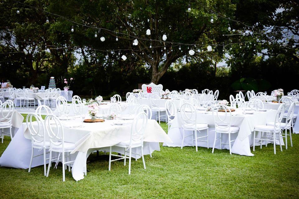 Jardín de bodas