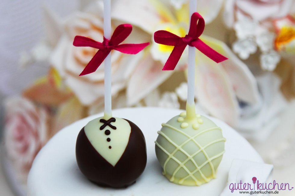 Braut & Bräutigam Cake Pops