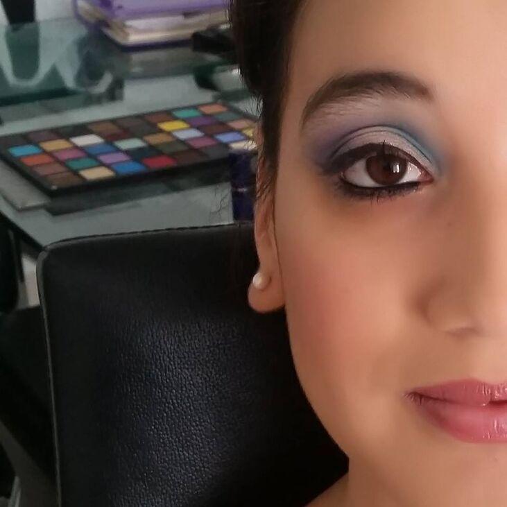 Maquillaje y Peinado Novia Vanguardista
