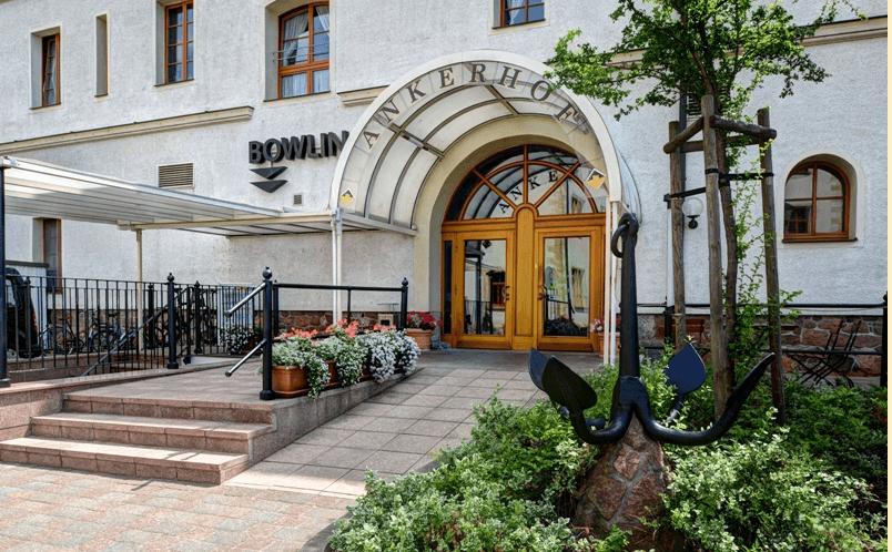 Beispiel: Eingangsbereich, Foto: Ankerhof Hotel.