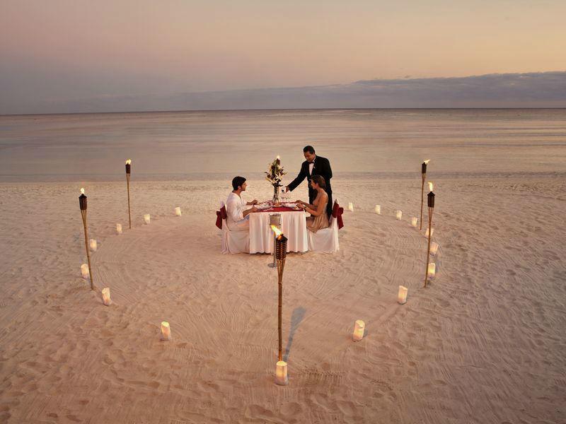 Barceló Maya Grand Resort Cena romántica