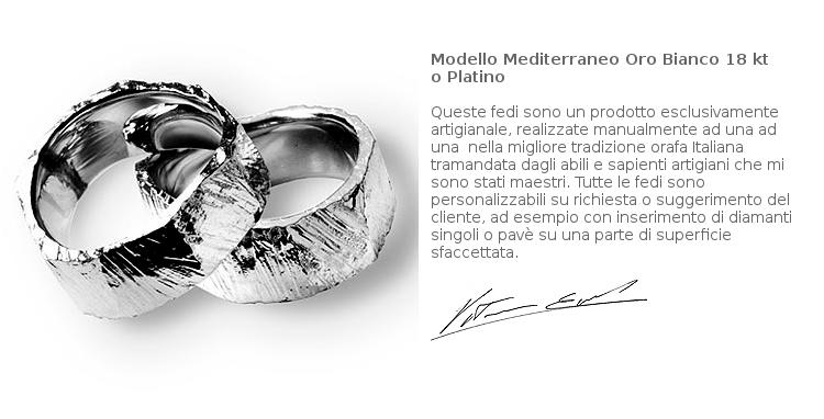 Fedi Matrimoniali Efrem Guidi Oro bianco al palladio LGBT community Wedding Italy Milano Brera Modello Tigani