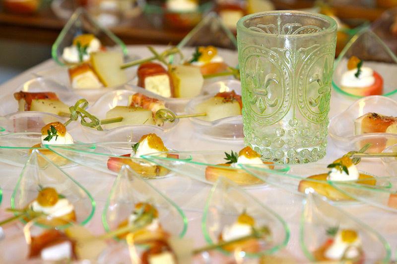 Beispiel: Immer frische Zutaten, Foto: Brunckhorst Catering.