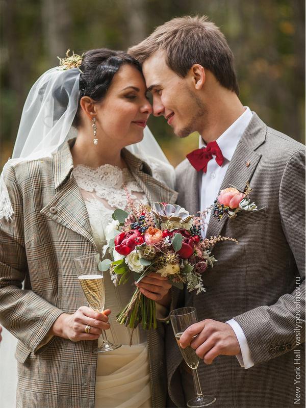 Осенние образы жениха и невесты