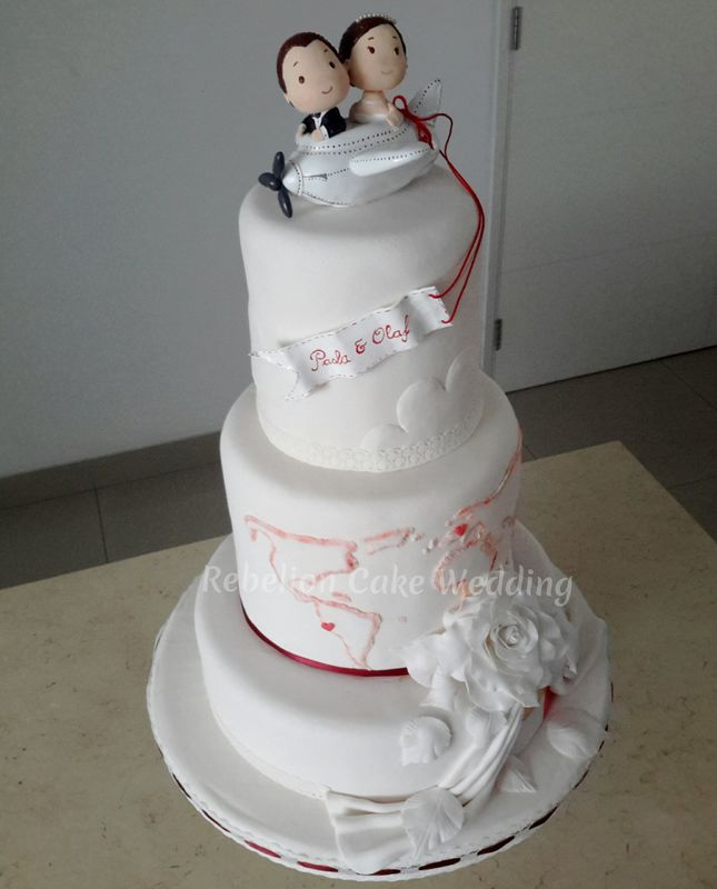 Rebelion Cake Wedding