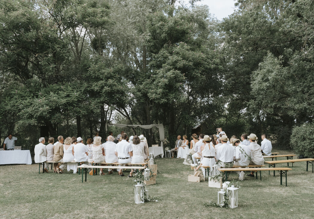 Les Demoiselles de Madame - Une cérémonie à votre image à 100%