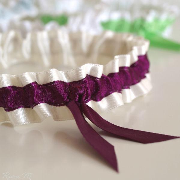 Beispiel: Strumpfband, Foto: Rosine M. Brautaccessoires.