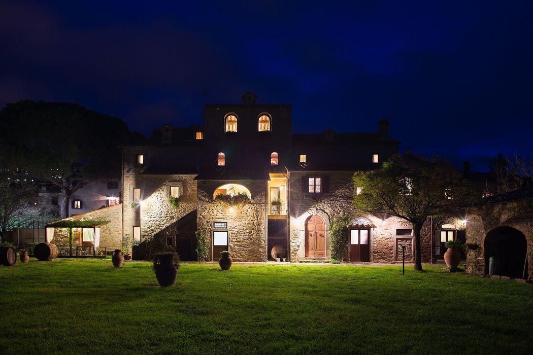 Monastero San Silvestro in notturna