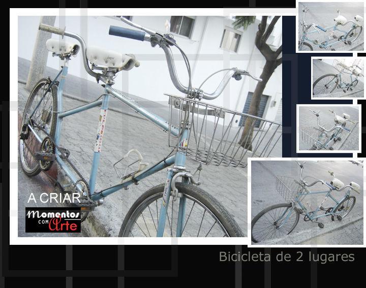 Bicicleta de 2 lugares