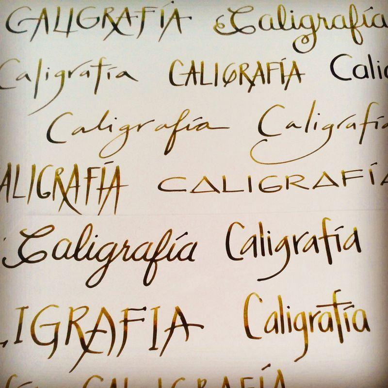 Caligrafía Logreira