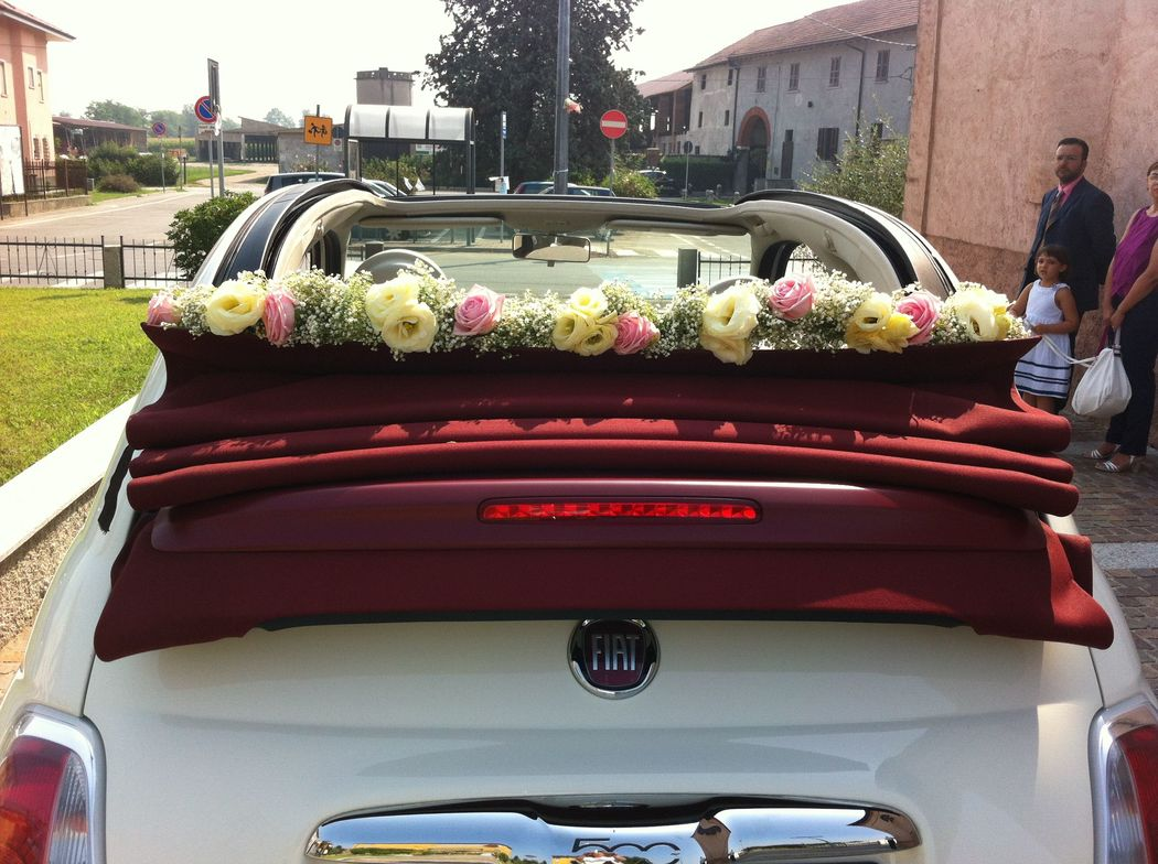 Vintage Wedding - La 500 in azione