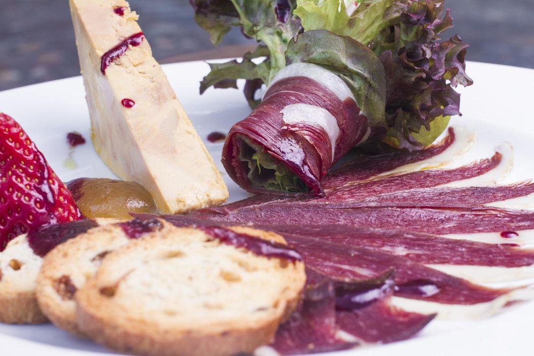 La Posta Real - Gastronomía