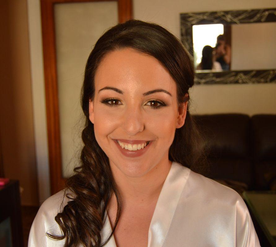 Maquillaje con aerógrafo Carmen.