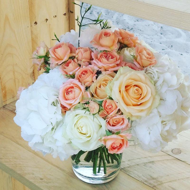 Rose et dentelle