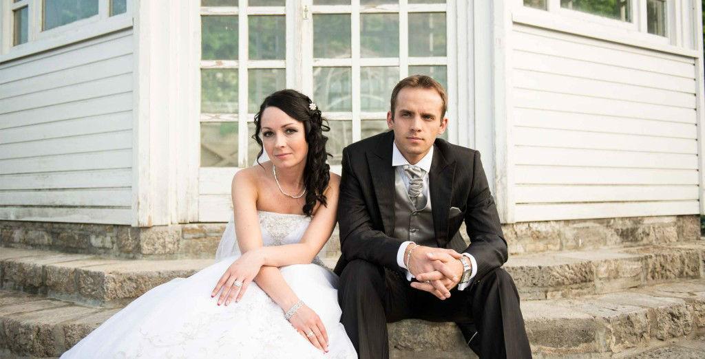 Beispiel: Originelle Hochzeitsfotos, Foto: Vitali Skidan.