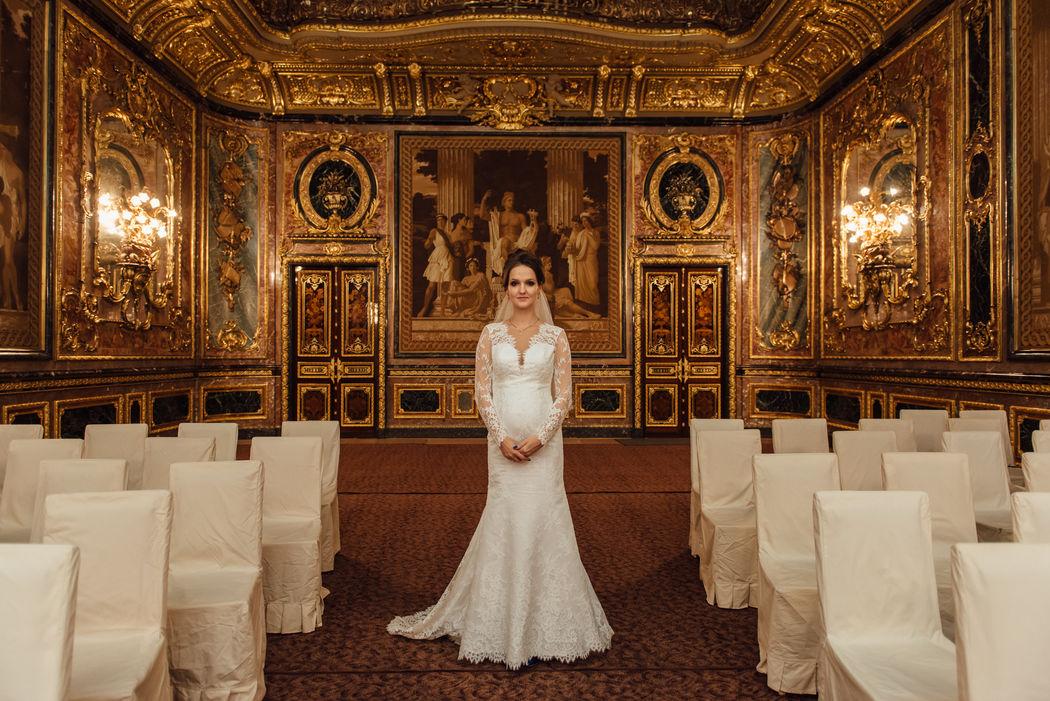 Свадебная фотосессия в Доме Архитектора