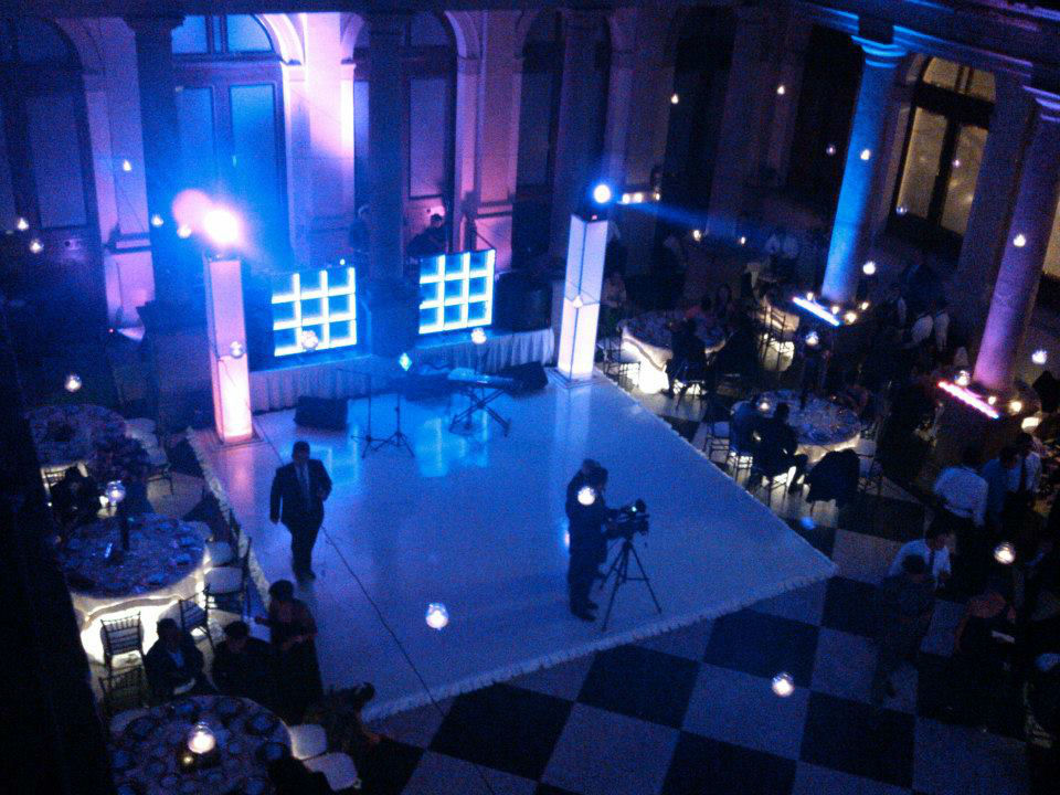 Audio e Iluminación para bodas MusikStation en Cuernavaca