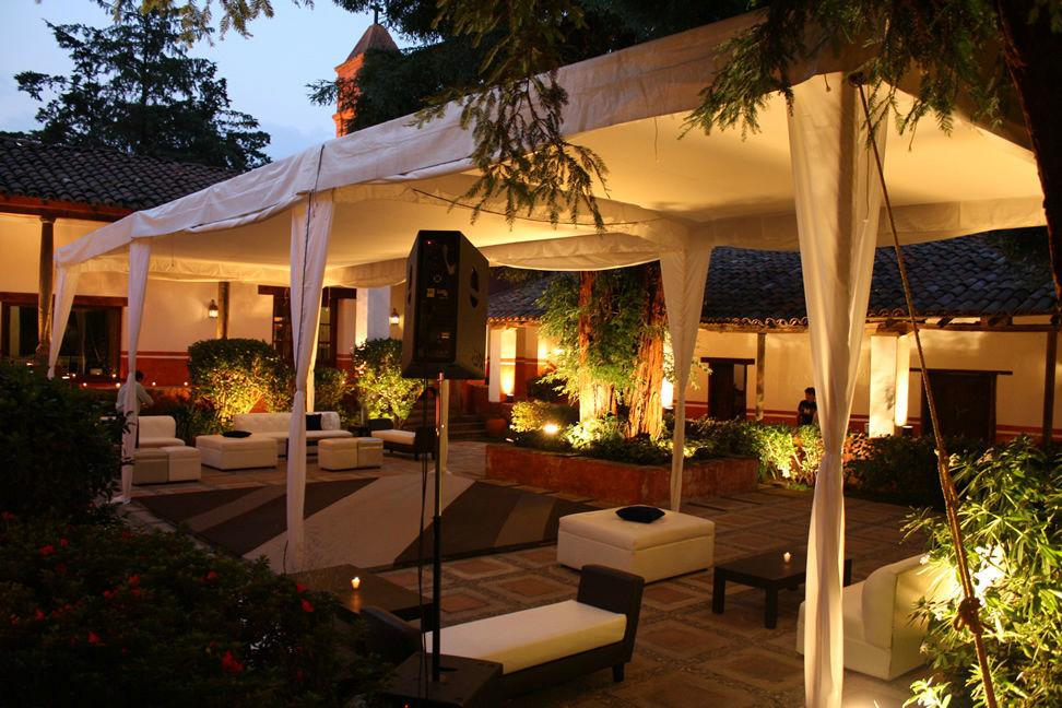 Hacienda san mart n bodas for Jardin quinta corregidor