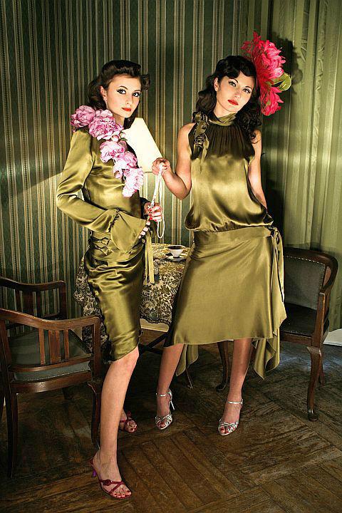 Beispiel: Wunderschöne Abendmode, Foto: Ella Deck Couture Abendmode.