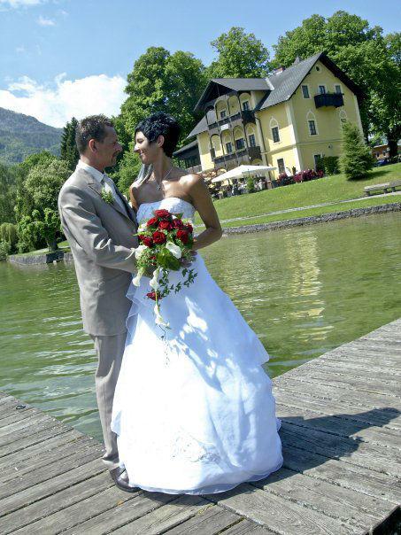Beispiel: Hochzeit in der Spitzvilla, Foto: Seecafe Restaurant Spitzvilla.