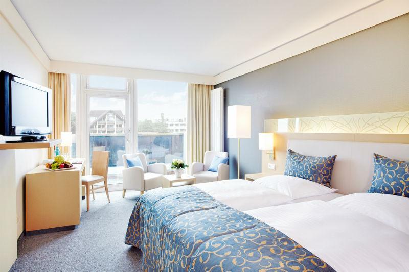Beispiel: Zimmer, Foto: Hotel Ambassador.