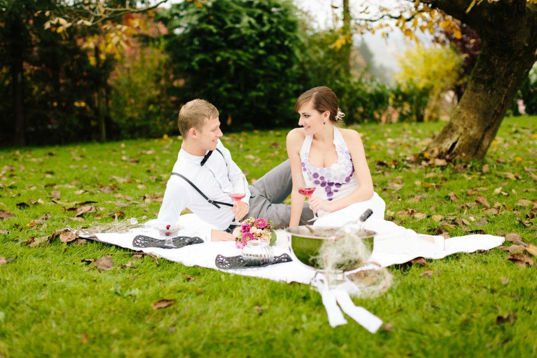 Beispiel: Stressfrei durch Ihren großen Tag, Foto: wedding AGENCY