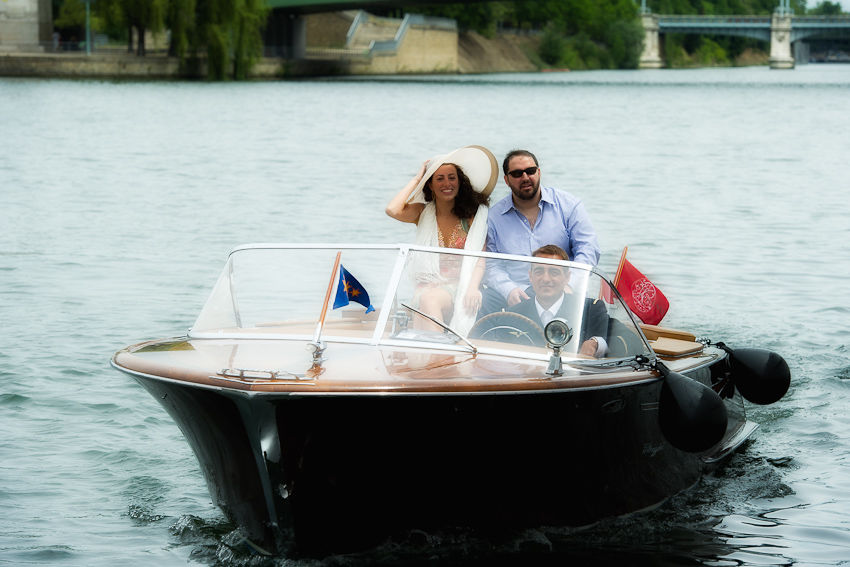 Mariage de Stéphanie & Cyrus, américains du Texas, Le Paquebot des Yachts de Paris, brunch,  Crédit Jack Gautier