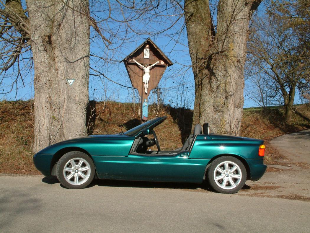 Ihr Hochzeitsauto zum Selberfahren: BMW Z1 Foto: Classic Roadster München
