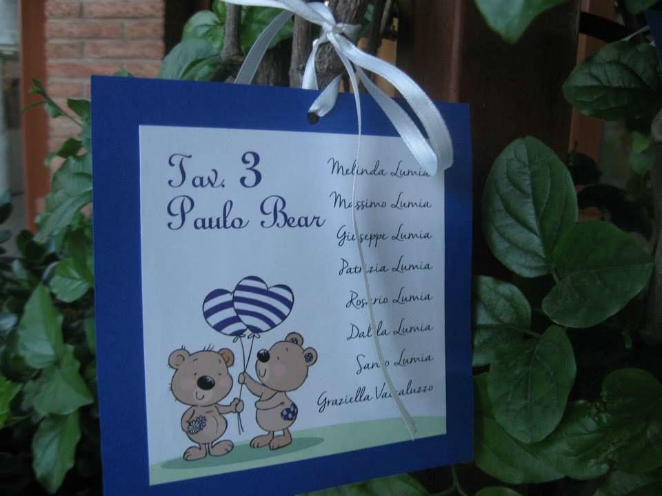 Tableau de mariage tema orsetti indaco