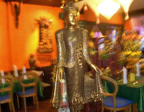 Beispiel: Ambiente - Dekoration, Foto: Restaurant Rim-Wang.