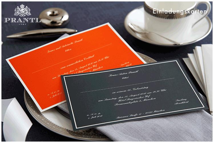 Prantl Hochzeitskarten