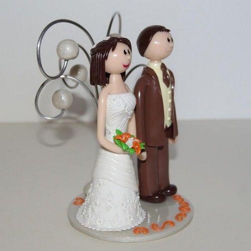 Figurines de mariage standard Flo et Merveilles