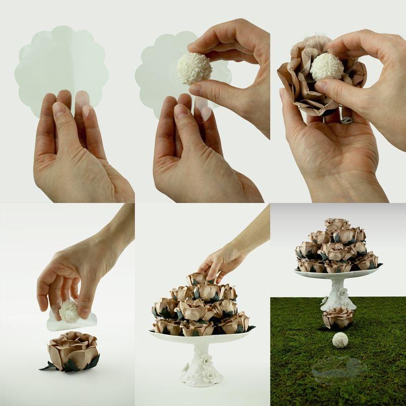 Como utilizar as nossas Forminhas em Flor...