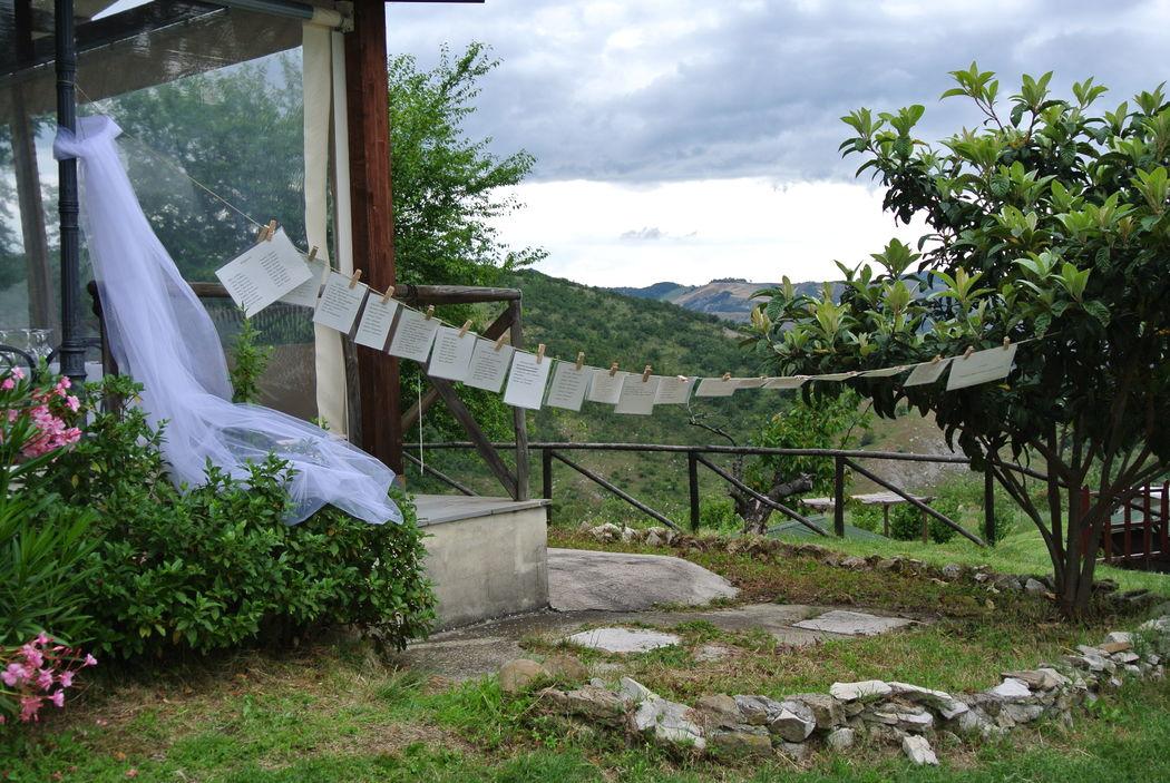Eco-country wedding - Tableau de mariage